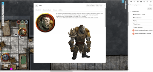 Forge of Fury Orc