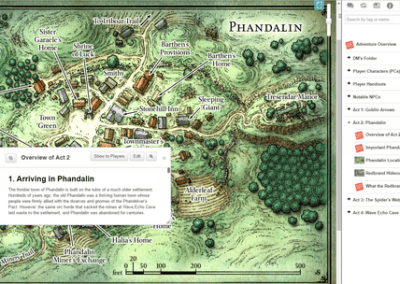 Map Phandalin