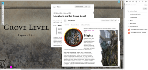 Forge of Fury Grove Level