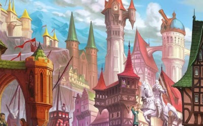 Citadels – A game of Medieval Cities, Nobles and Intrigues