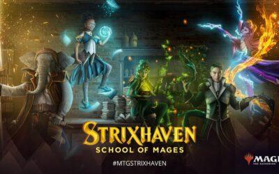 Strixhaven lands on MTG Arena