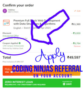 apply-Coding-Ninjas-Referral-on-your-Account