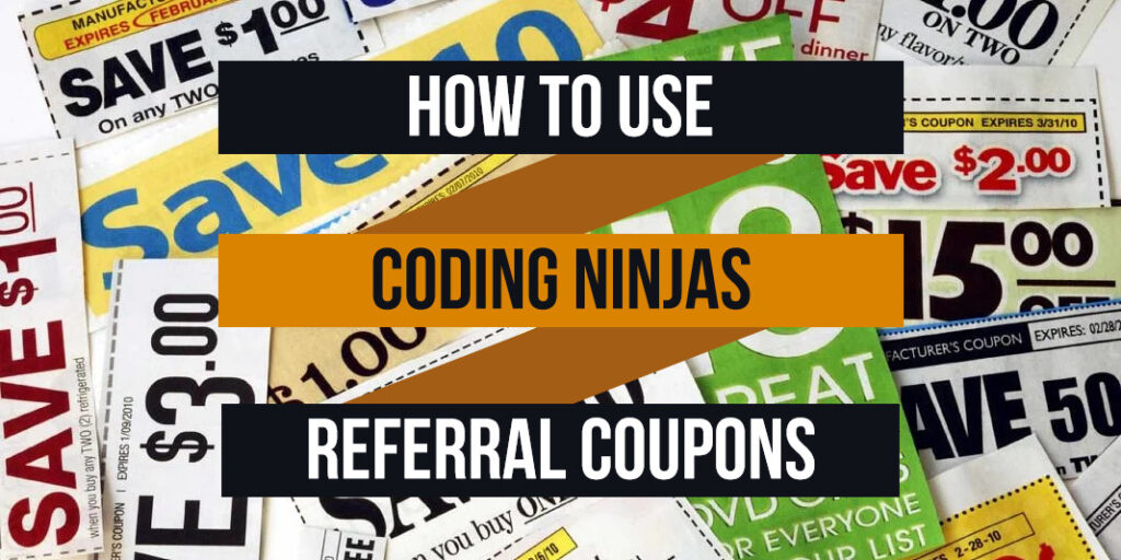 how to use coding ninjas referral coupons
