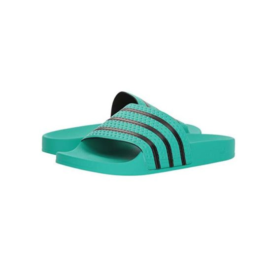 18-CQ3100-Adidas Originals Adilette Slides – Hi Res Green-8
