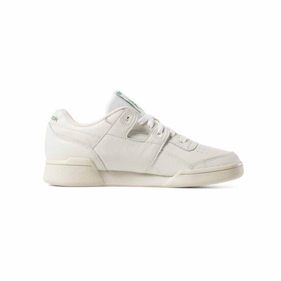 DV3735-Reebok Classic Workout LO Plus Shoes – Chalk-3
