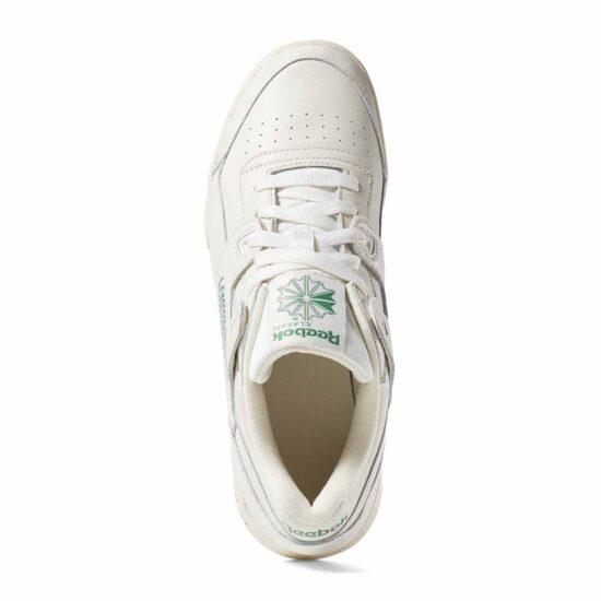DV3735-Reebok Classic Workout LO Plus Shoes – Chalk-4