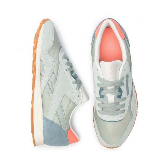 CN6687-Reebok Classic CL Nylon Shoes-2