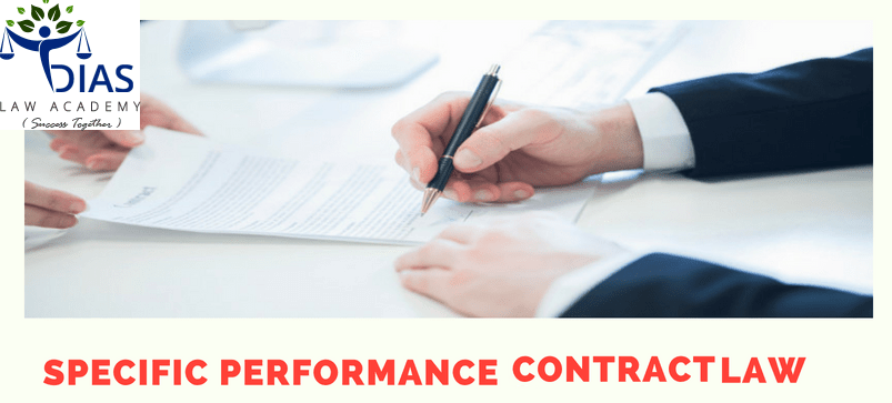 Specific Performance of contract
