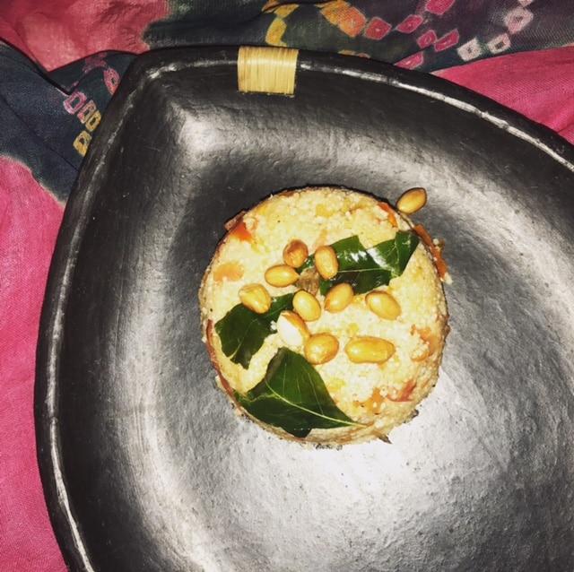 Navratra special Samak ka upma (Barnyard millet Porridge)