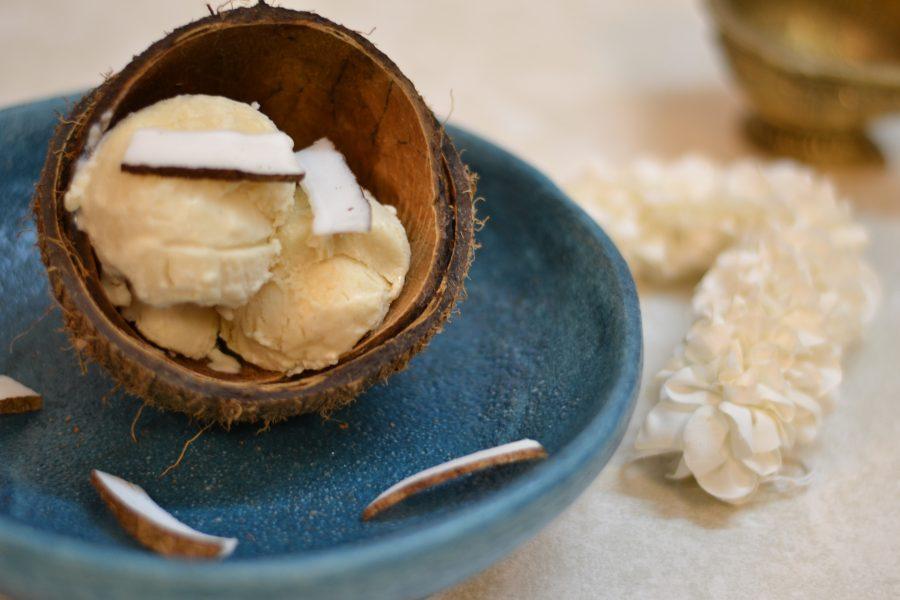 Coconut Kulfi/ Nariyal Kulfi/Easy Home Made Frozen Coconut Milk Dessert