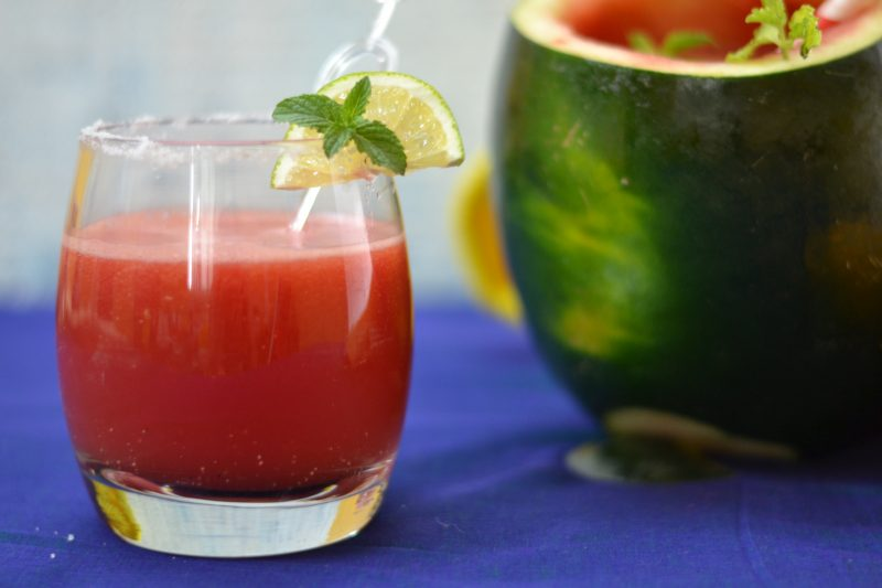 Watermelon Agua Fresca /Watermelon Mocktail