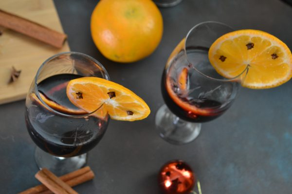 Mulled Wine…….A Spiced Warm Glass of Wine