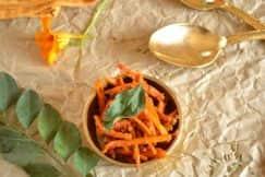 Raw Turmeric Pickle South Indian Style/ Haldi Ka Achar