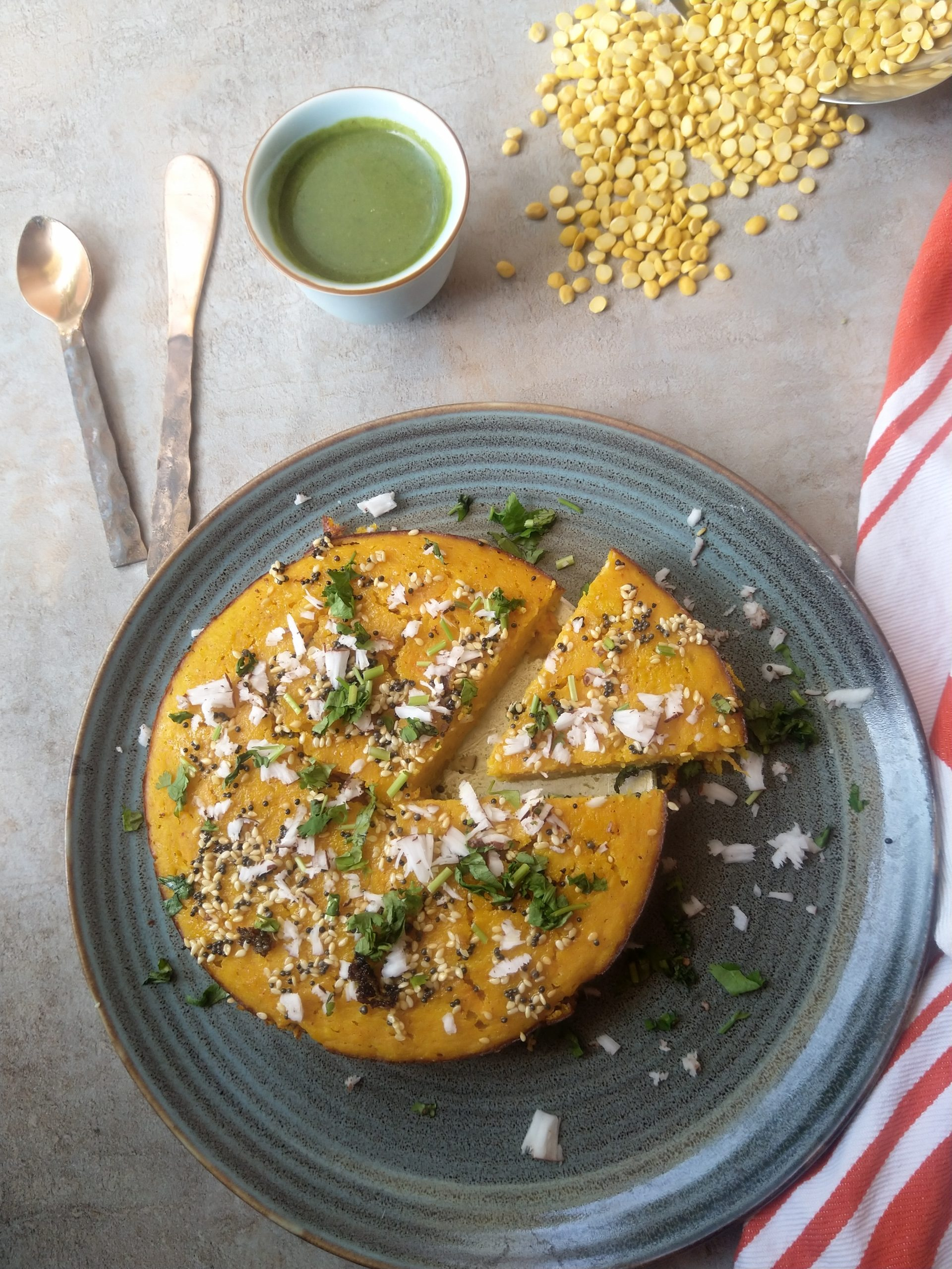 Baked handwo,traditional Gujarati handwo,Savoury rice and vegetable pancake,