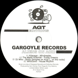 "Gargoyle Records - Aliens on Acid - 12"" (AGTE01)"