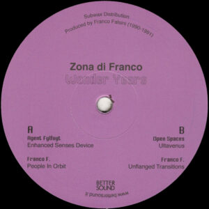 "Zona di Franco - Wonder Years - 12"" (BS05)"