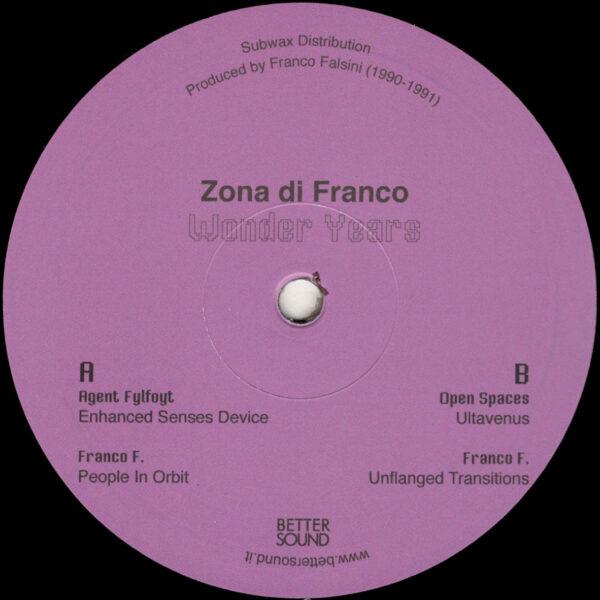 """Zona di Franco - Wonder Years - 12"""" (BS05)"""