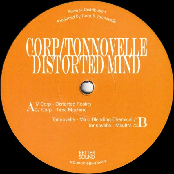 """Corp / Tonnovelle - Distorted Mind - 12"""" (BS06)"""
