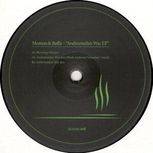 "Moreon & Baffa - Andromedan War EP (Incl. Mark Ambrose Remix) - 12"" (BUDARE008)"