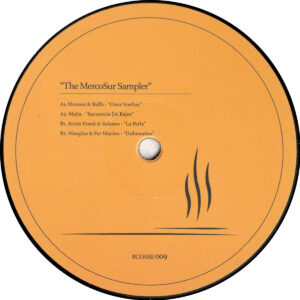 "Various - The MercoSur Sampler - 12"" (BUDARE009)"