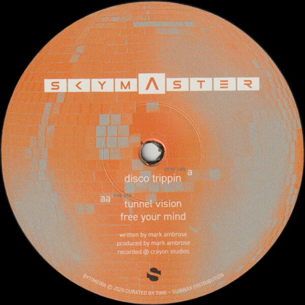 "Skymaster - Disco Trippin - 12"" (1997 Reissue) (BYTIME006)"