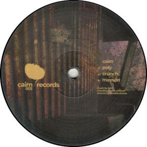 """Caim - Mayson EP - 12"""" (CAIM003)"""