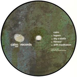 """Caim - Flâneur - 12"""" (CAIM RECORDS 001)"""