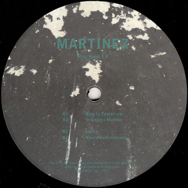 "Martinez - Mile High EP - 12"" (CCLD015)"