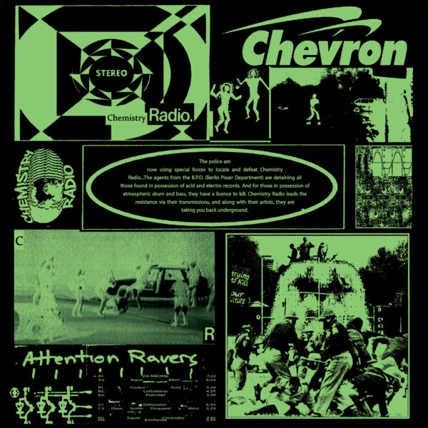 "Chevron - Chemistry Radio 02 - 2x12"" (CHMR02)"
