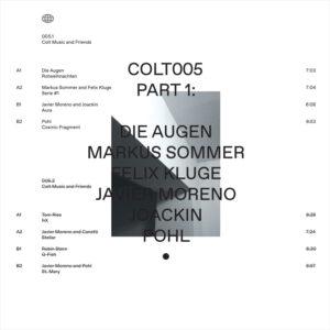 """Various - Colt Music and Friends part 1 - 12"""" (COLT005.1)"""