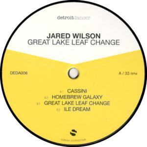 "Jared Wilson - Great Lake Leaf Change - 12"" (DEDA006)"