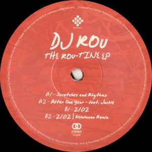 "Dj Rou - The Rou-tine EP (Incl. Minimono Remix) - 12"" (DPV003)"