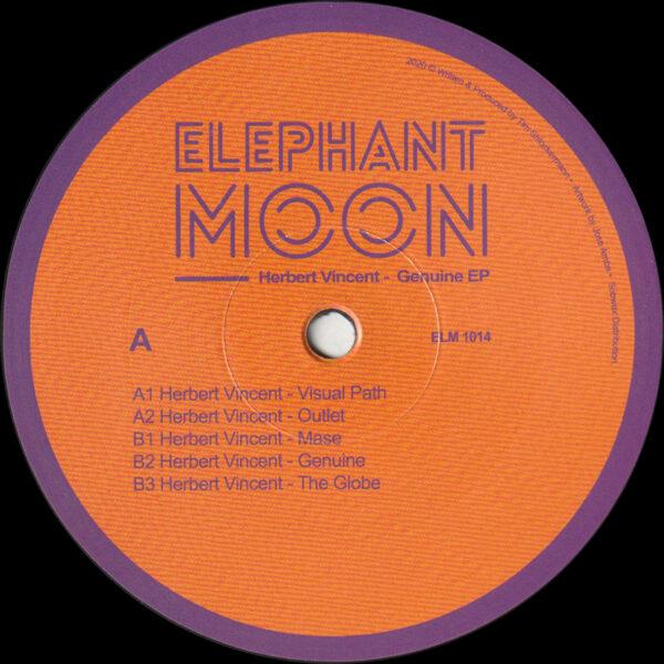 """Herbert Vincent - Genuine EP - 12"""" (ELM 1014)"""