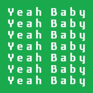"""Fast Floor - Yeah Baby - 12"""" (FE046)"""