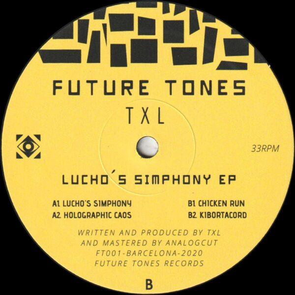 """TXL - Lucho's Simphony EP - 12"""" (FT001)"""