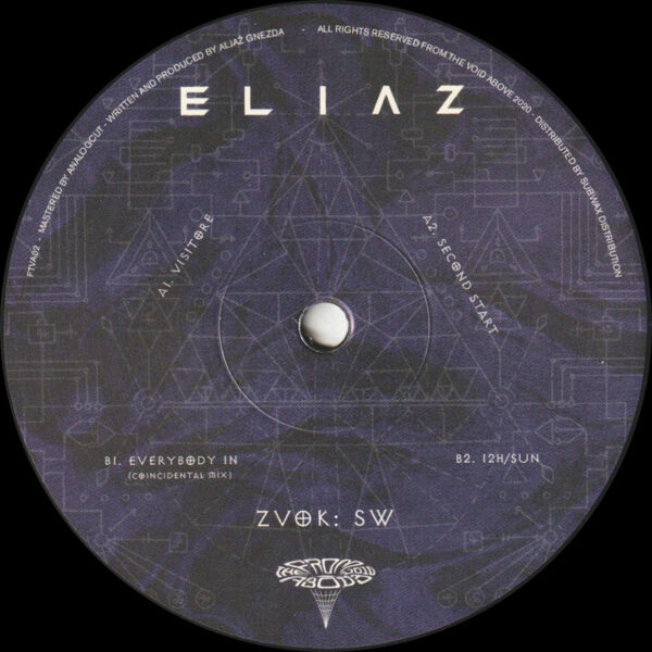 "Eliaz - Zvok: SW EP - 12"" (FTVA02)"