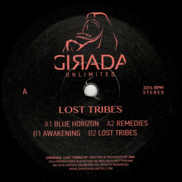 """D&S - Lost Tribes EP - 12"""" (GIRADA07)"""