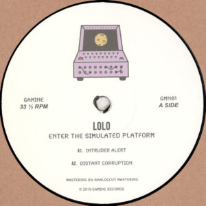 "Lolo - Enter The Simulated Platform (Incl. Two Phase U Remix) - 12"" 180gr. (GMN01)"