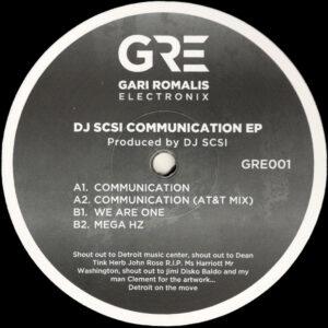 "DJ SCSI - Communication EP - 12"" (GRE001)"