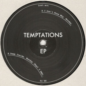 "Lost.act - Temptations EP (Incl. Egal 3 Rmx) - 12"" (KK.04)"