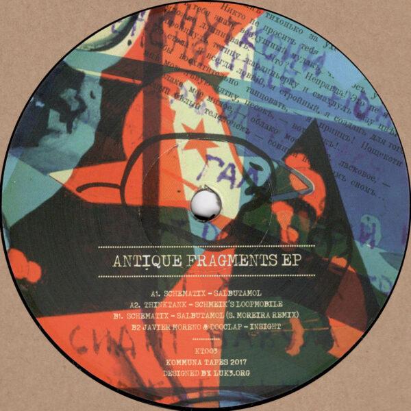 "Various - Antique Fragments EP - 12"" (KT003)"