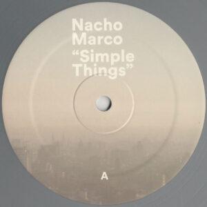"Nacho Marco - Simple Things (LP) - 12"" Silver Colour Vinyl (LDS041)"