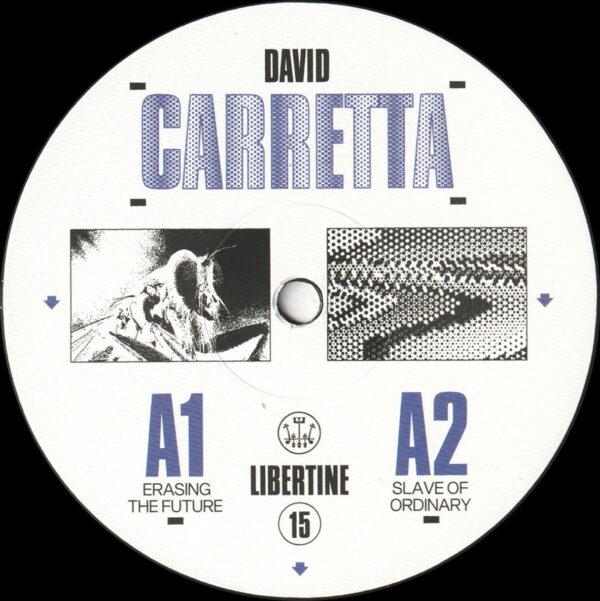 """David Carretta - Libertine 15 - 12"""" (LIB15)"""