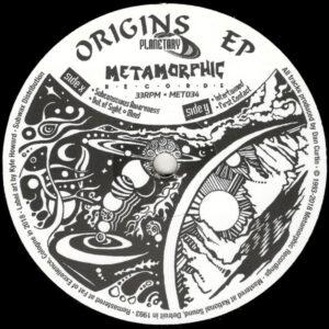 """Planetary - Origins EP (Reissue) - 12"""" (MET034)"""