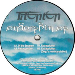 "Titonton - Endorphin EP - 12"" (MET035) (Reissue)"