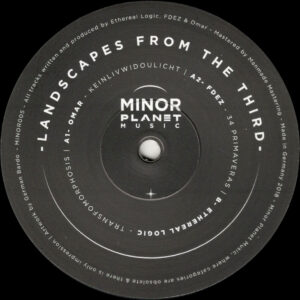 """Omar / FDEZ / Ethereal Logic - Landscapes From The Third - 12"""" (MINOR005)"""