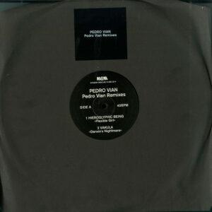 "Pedro Vian - Pedro Vian Remixes (Vakula, Hieroglyphic Being, Cardopusher & Da Silva Remixes) - 12"" (MOM020)"