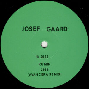 """Josef Gaard - 2929 (Incl. Avancera Remix) - 12"""" (MOUNTAIN_004)"""