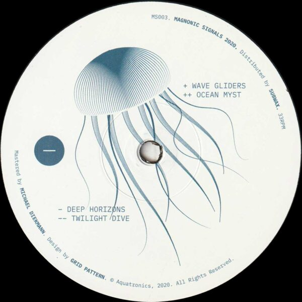 "Aquatronics - Deep Horizons EP - 12"" (MS003)"