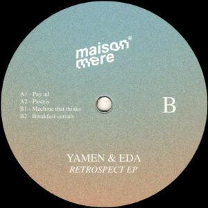 """Yamen & EDA - Retrospect EP - 12"""" (MSMR001)"""
